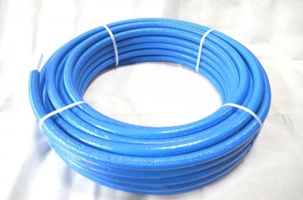 50 m Rolle Mehrschichtverbundrohr PEXB/AL/PEXB 16x2 mm 20x2 mm isoliert DVGW zertifiziert
