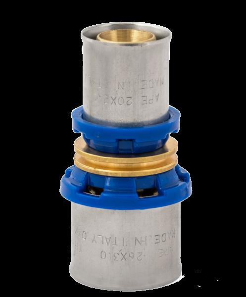 BV Press Kupplung reduziert blauer Ring