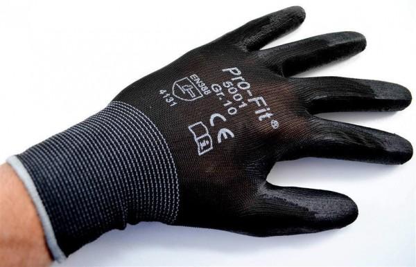 PU-Handschuh schwarz