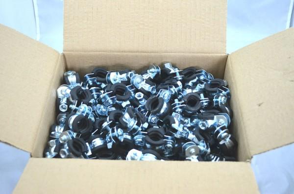 Rohrschellen 2-teilig 20 Stück bis 150 Stück im Karton je nach Größe