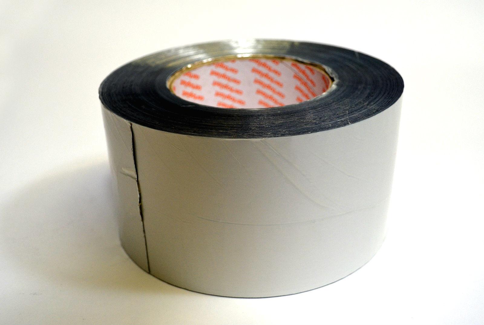 rein aluminium klebeband 100 m auf rolle rohrisolierung zubeh r rohrisolierung. Black Bedroom Furniture Sets. Home Design Ideas