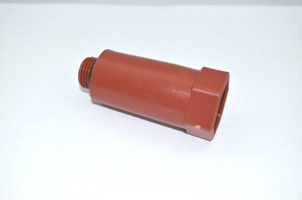 "Baustopfen Kunststoff 1/2"" blau oder rot Paket a 5 Stück"
